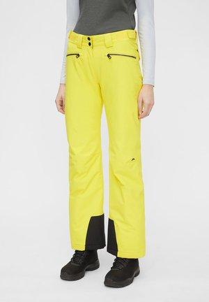 Skibukser - banging yellow