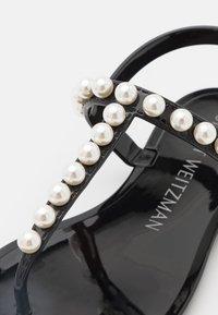 Stuart Weitzman - GOLDIE - T-bar sandals - black - 5