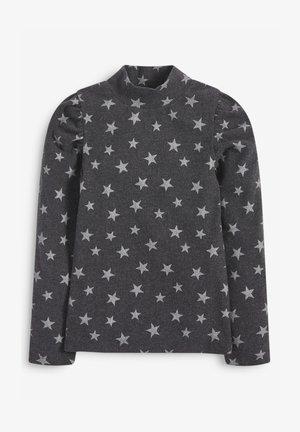 TURTLE NECK PUFF SLEEVE  - Long sleeved top - grey