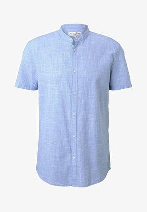 Koszula - light blue white fil a fil