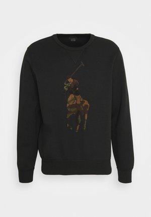 Sweatshirt - black/olive