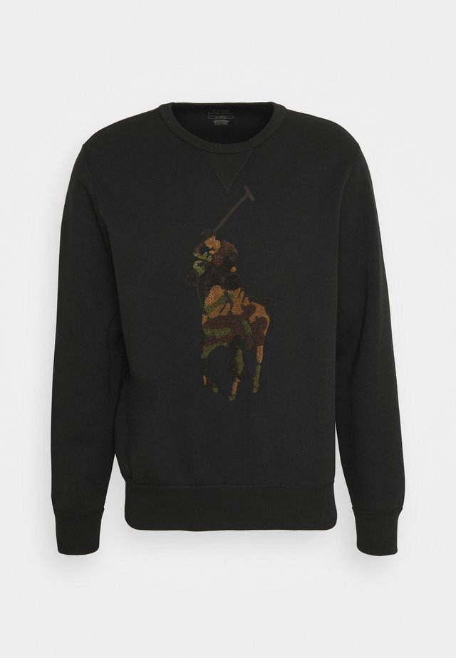 Sweatshirt - black/olive