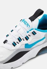 Nike Sportswear - NIKE AIR MAX 270 RT BP - Trainers - white/laser blue/wolf grey/black - 5