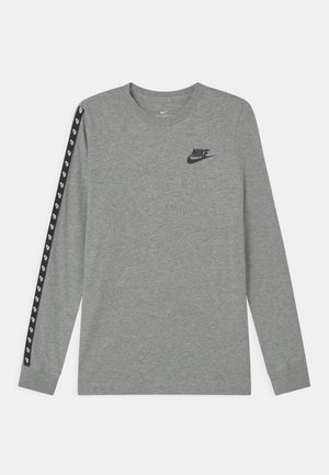 TAPING - Long sleeved top - dark grey heather