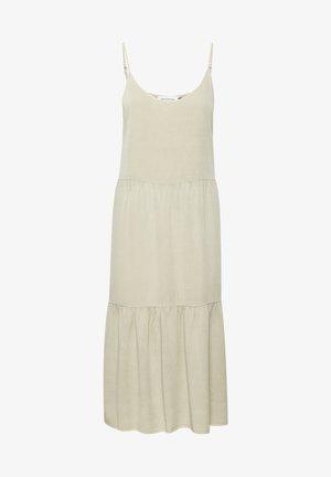 COSMO STRAP - Korte jurk - oatmeal