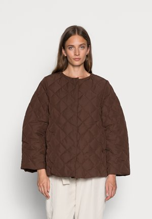HEDDA - Light jacket - dark chocolate
