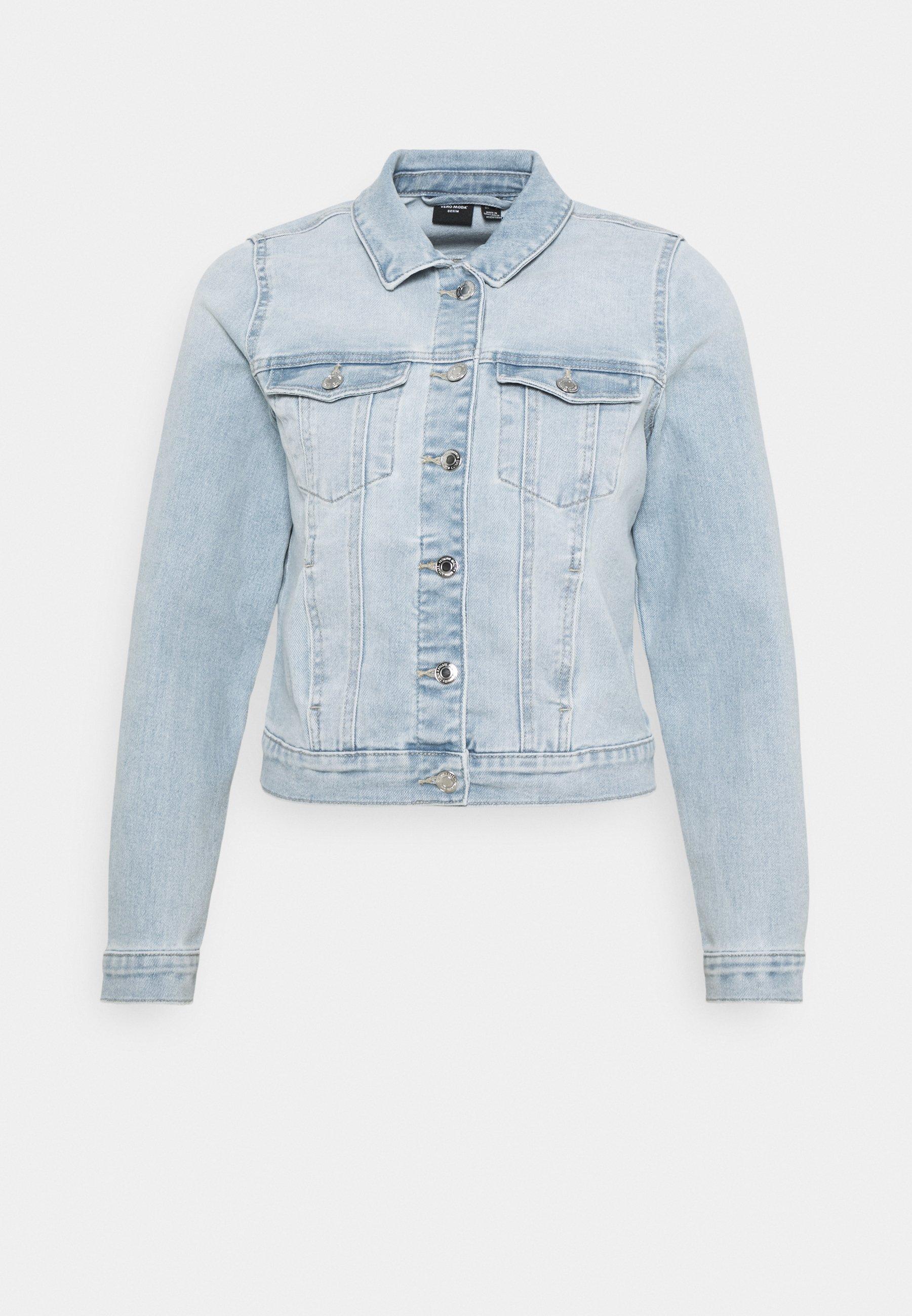Femme VMFAITH SLIM JACKET - Veste en jean