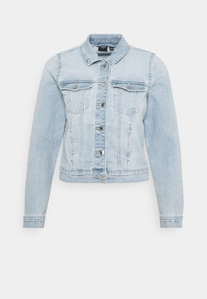 VMFAITH SLIM JACKET - Jeansjakke - light blue denim