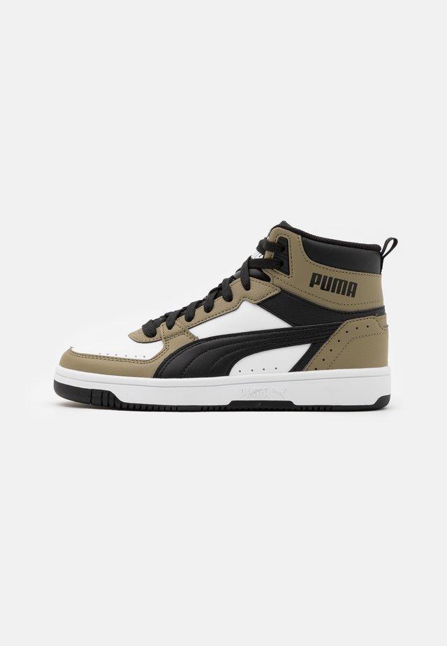 REBOUND JOY UNISEX - Sneakers alte - white/black/covert green