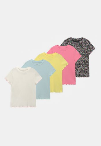 TEES 5 PACK - Print T-shirt - multi-coloured