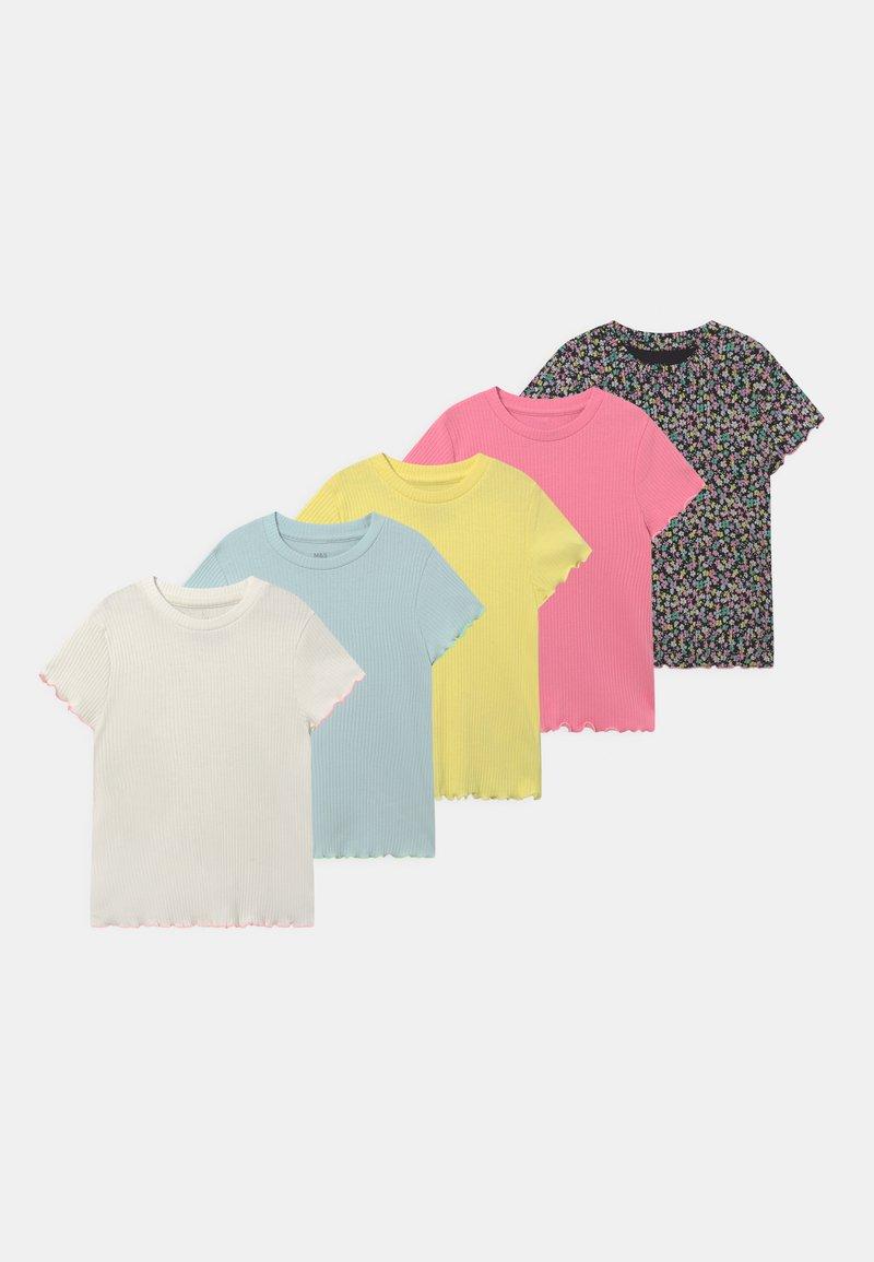 Marks & Spencer London - TEES 5 PACK - T-Shirt print - multi-coloured