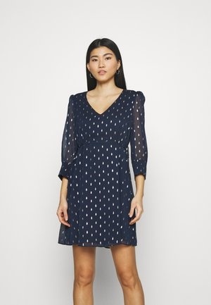 PARTY - Day dress - bleu marine