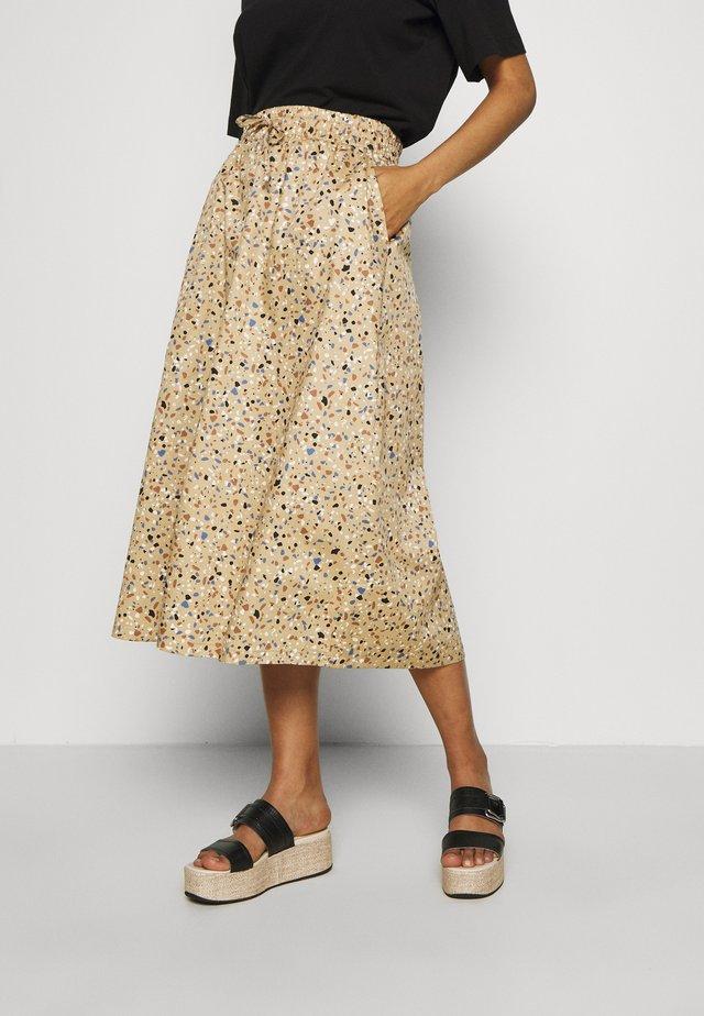 JUVINA SKIRT - A-line skirt - terazzo