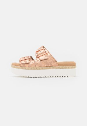 LANA BEACH - Mules - rose gold