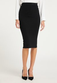 usha - Pencil skirt - schwarz - 0