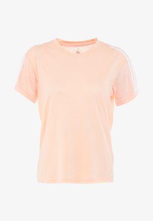 T-shirt z nadrukiem - glow pink