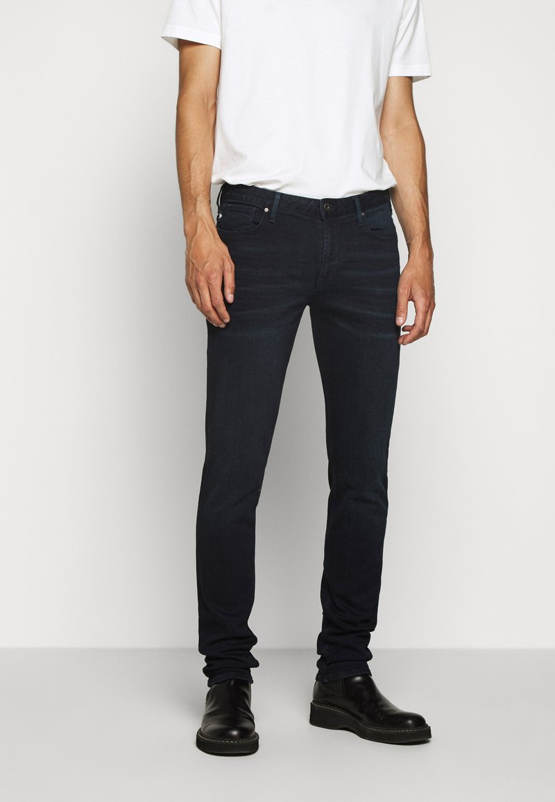 Emporio Armani - Vaqueros slim fit - blue denim