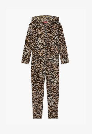 GIRLS ONESIE - Pyžamo - brown
