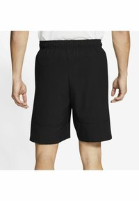 Nike Performance - FLEX SHORT - Träningsshorts - black mean green - 5
