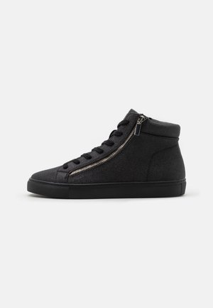 DONALD - High-top trainers - black