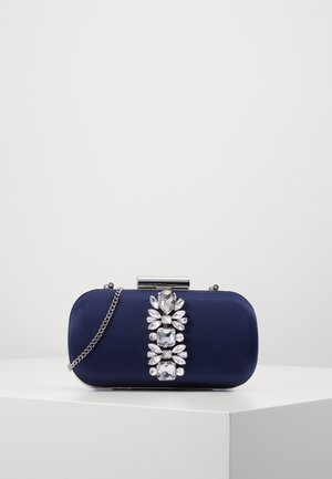 ELIZABETH JEWELLED HARDCASE - Clutch - navy