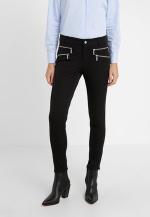 ROCKER ZIP - Skinny džíny - black