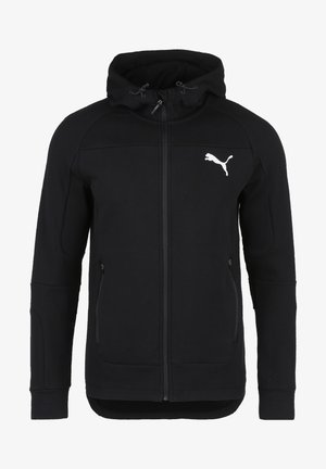 EVOSTRIPE KAPUZENJACKE HERREN - Training jacket - black