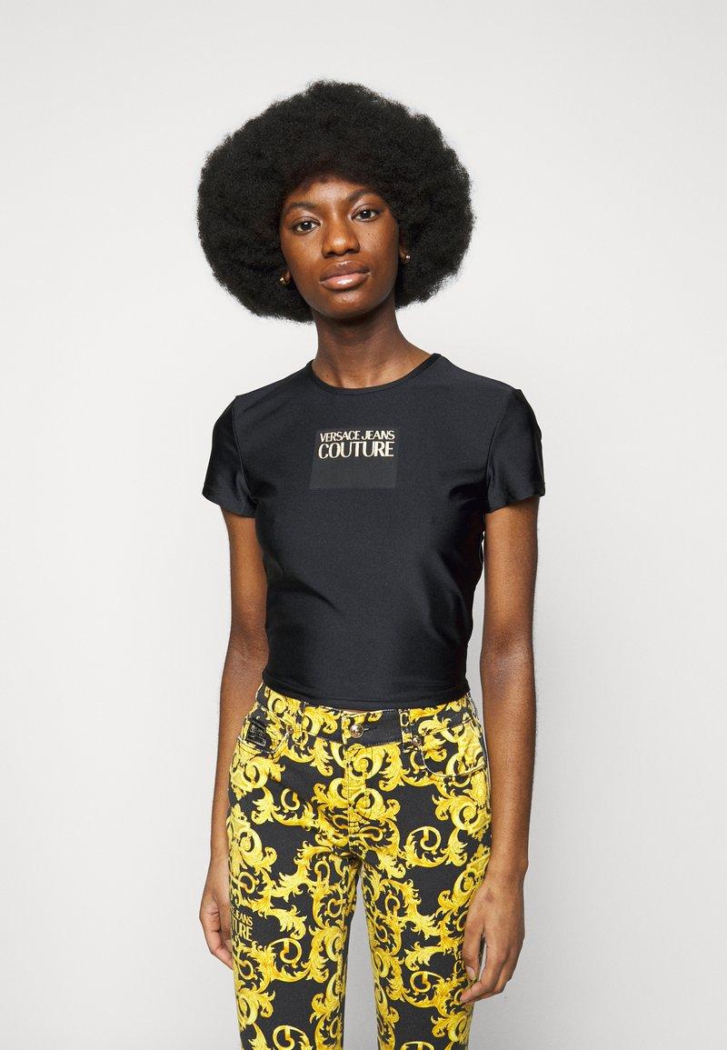 Versace Jeans Couture - LADY - Triko spotiskem - black