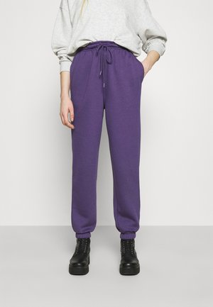 HARLEY JOGGER - Tracksuit bottoms - plum