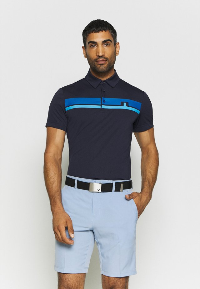 CLARK SLIM FIT GOLF - Sports shirt - navy
