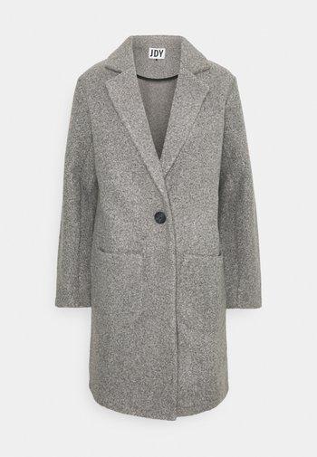JDYJOANNA  - Klasický kabát - dark grey melange