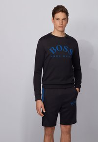 BOSS - SALBO - Sweatshirt - black - 0
