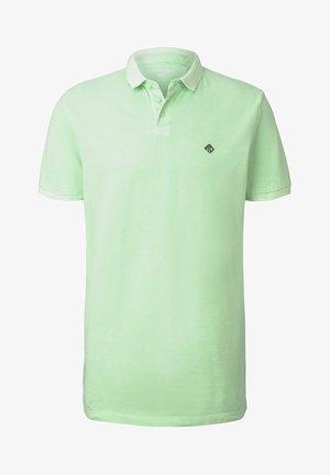 POLOSHIRTS POLOSHIRT MIT PRINT - Polo shirt - soft neo green