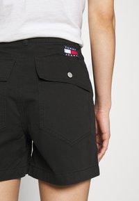 Tommy Jeans - HARPER HIGH RISE - Shorts - black - 3