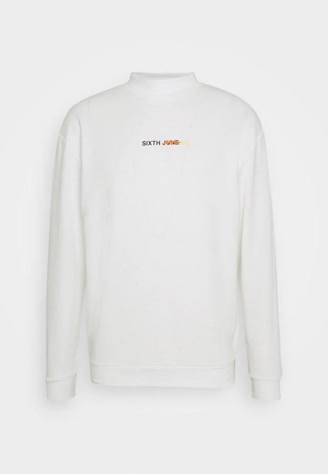 GRAFFITI CREWNECK - Sweatshirt - offwhite