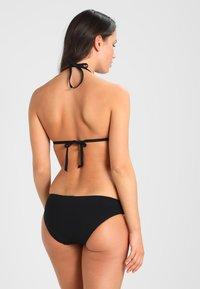 Seafolly - ACTIVE HIPSTER - Bikini bottoms - black - 2