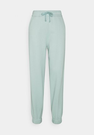 JANA'S DIARY X NU-IN - Tracksuit bottoms - green
