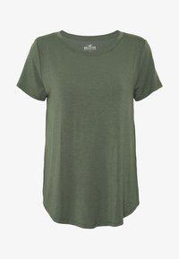 Hollister Co. - EASY CREW  - Basic T-shirt - olive - 4