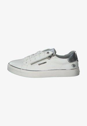 Sneakers laag - weiss grau