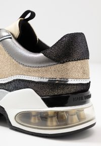 KARL LAGERFELD - LAZARE - Trainers - gold/silver - 2