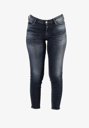 POWERC - Slim fit jeans - blue  black
