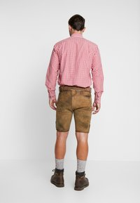 Stockerpoint - THOMAS - Kožené kalhoty - korn - 2
