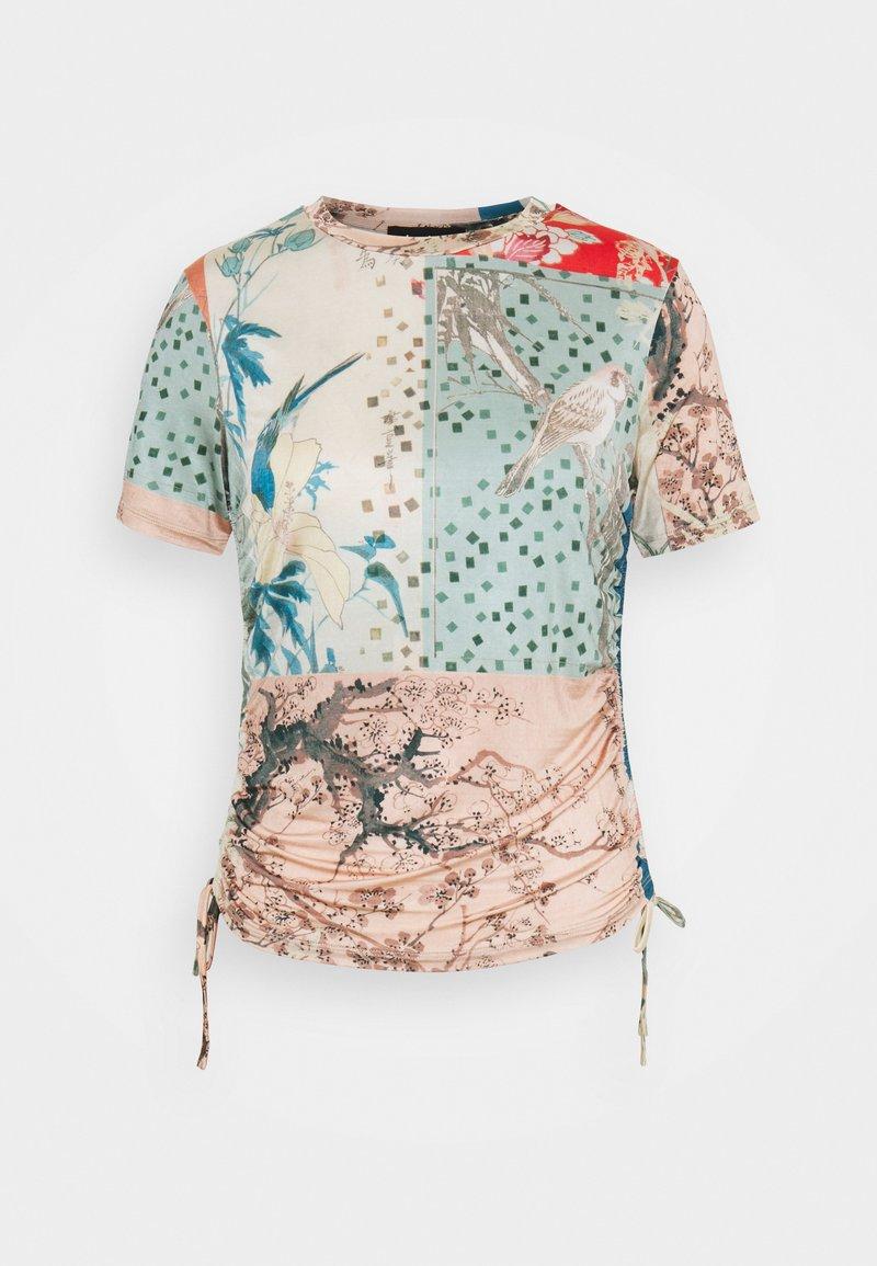 Desigual - MATSUE - T-shirts med print - multicoloured