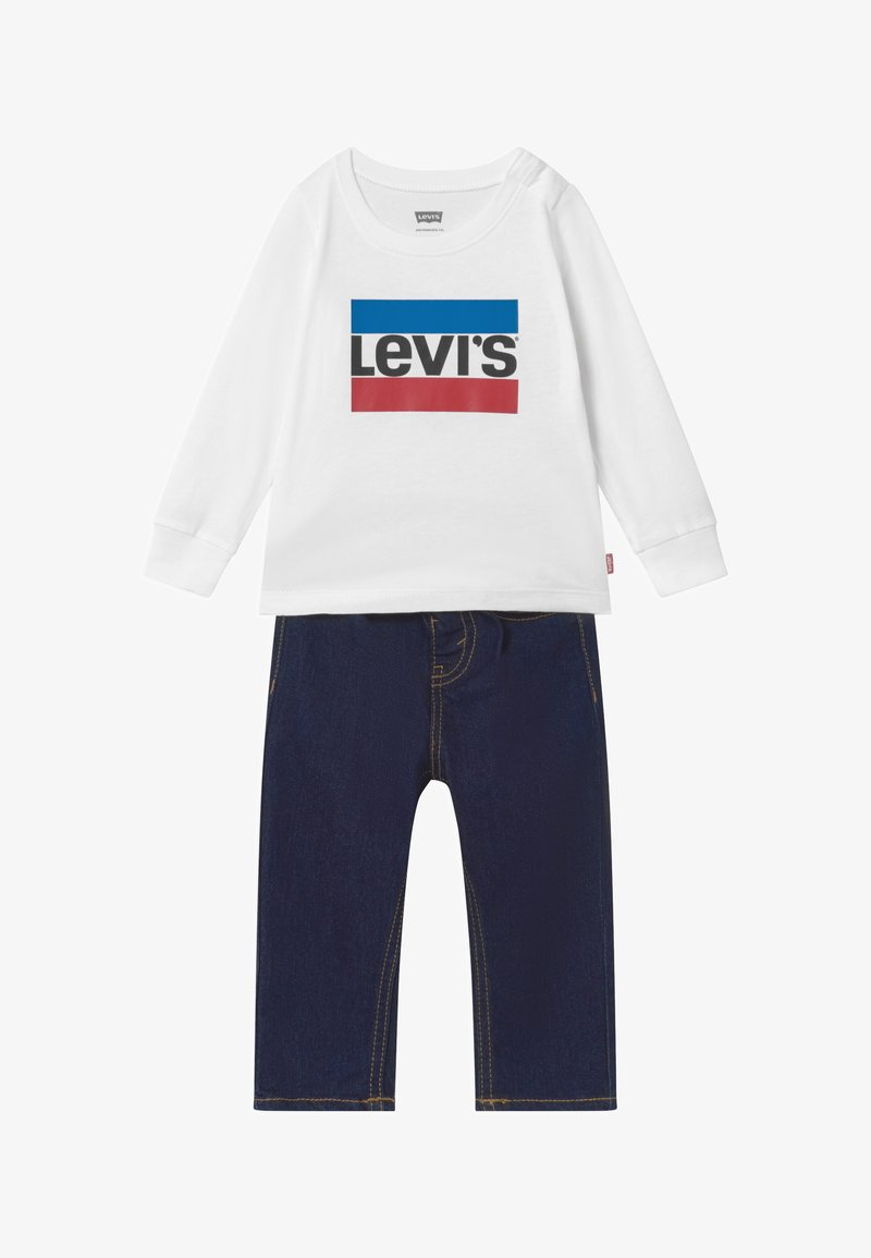 Levi's® - SET - Slim fit jeans - white