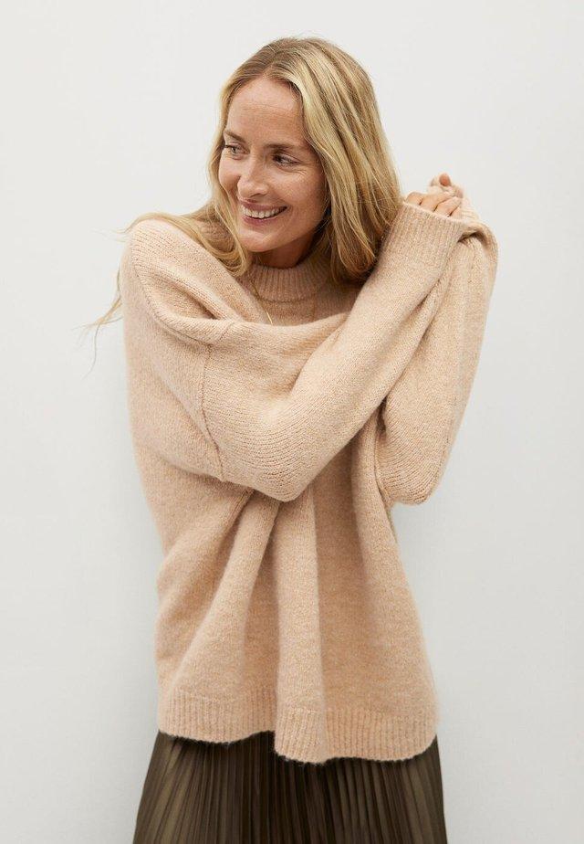 VINSON - Sweter - medium brown