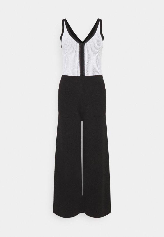 VESTITO - Jumpsuit - black/white
