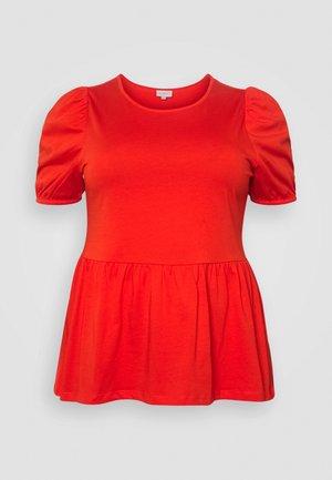 CARANNI PUFF - Print T-shirt - poinciana