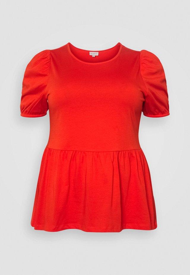 CARANNI PUFF - T-Shirt print - poinciana