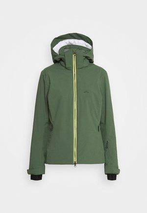 TRACY - Lyžařská bunda - thyme green