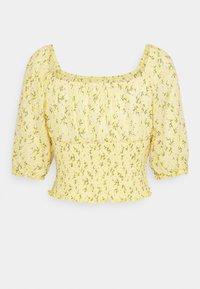 ONLY - ONLPELLA SMOCK - T-shirt med print - sunshine - 1